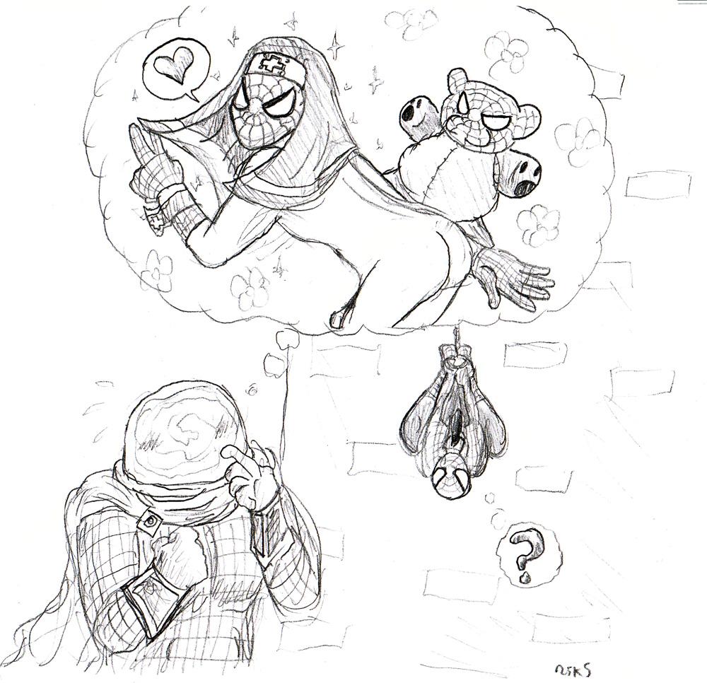 spider-man Puyo puyo tetris