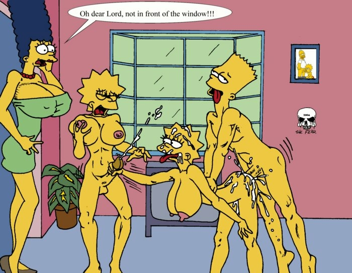 naked marge simpson with bart Who was gozer in ghostbusters