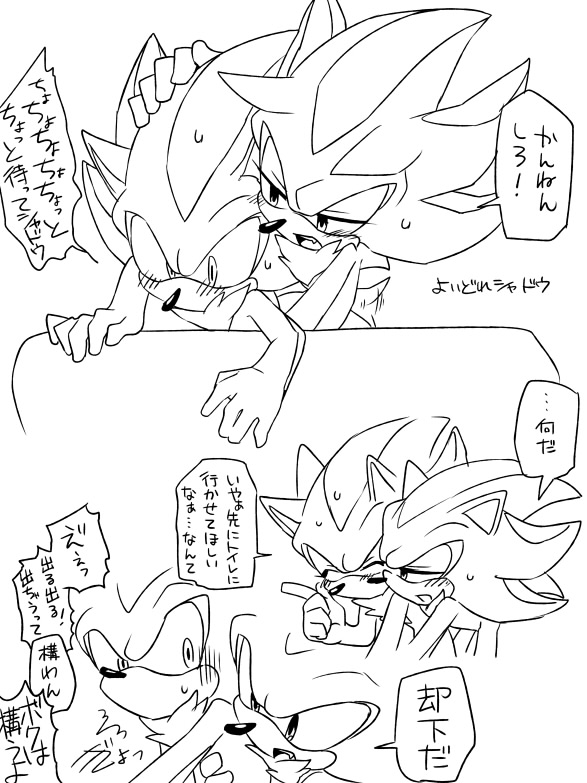 blaze cat silver kissing hedgehog and the the Watch dog of the old lords