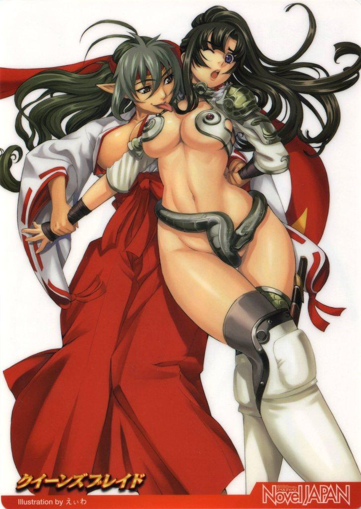 and blade mount Demi-chan wa kataritai danbooru