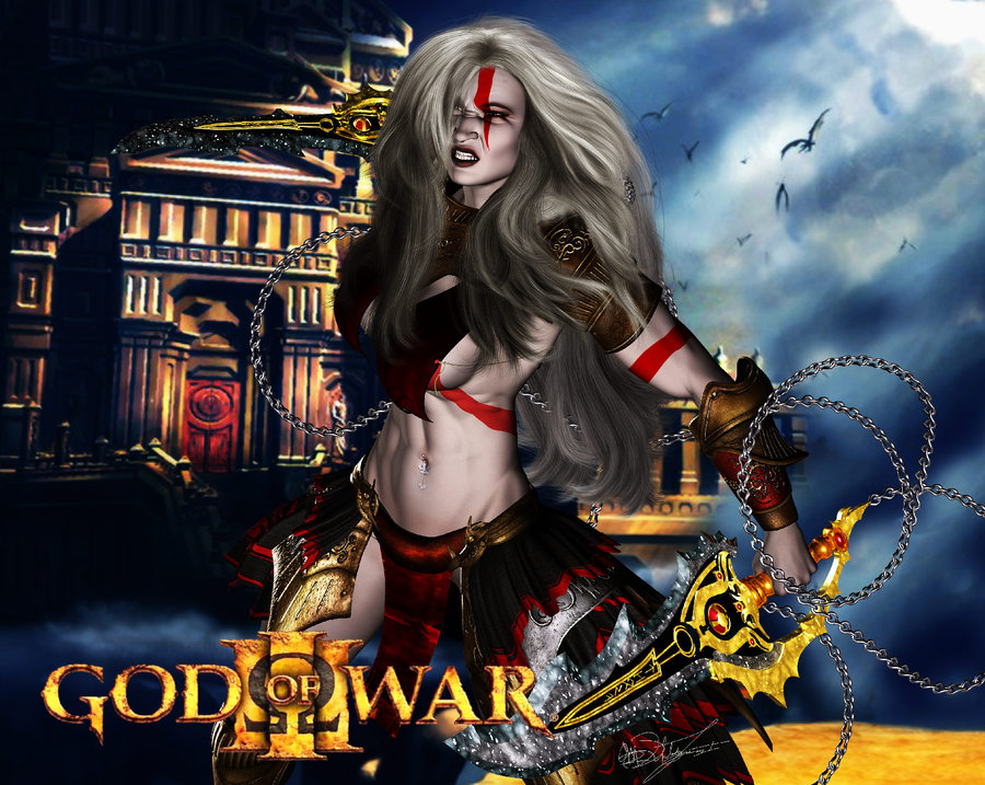 god of athena war 3 Five nights in anime game