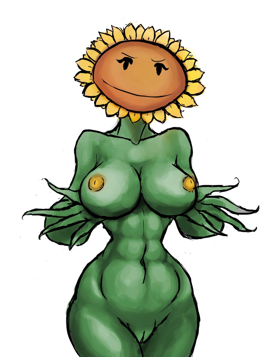 2 moonflower vs plants zombies To love ru