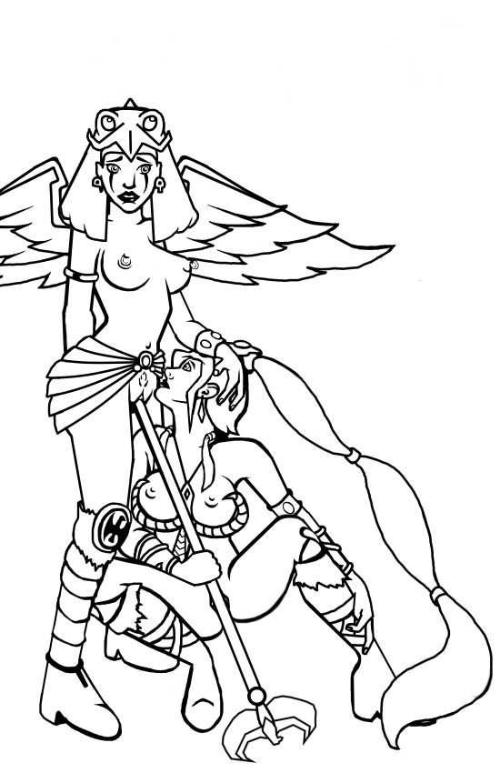 the werehog of sonic ghost girl night Final fantasy xiii nude mod