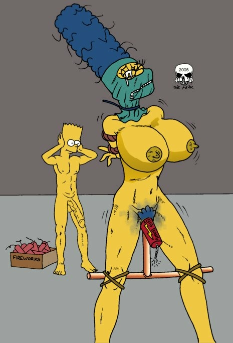 marge simpson with naked bart Is bazza gazza a furry