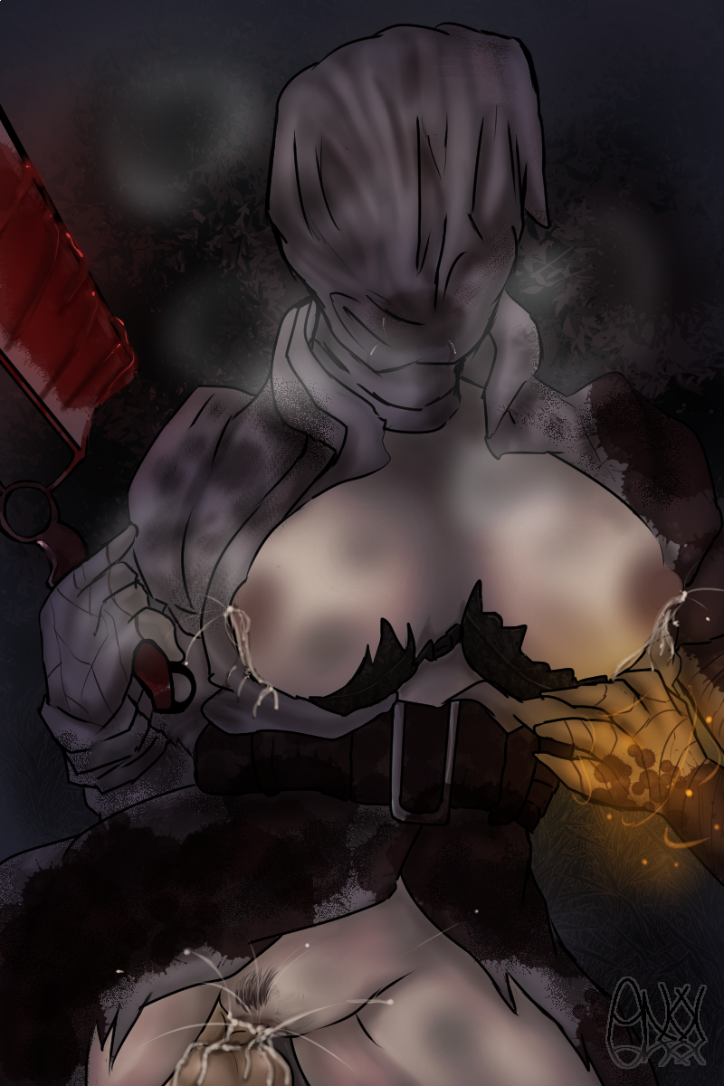 dead the daylight hag by Team fortress 2 pyro girl