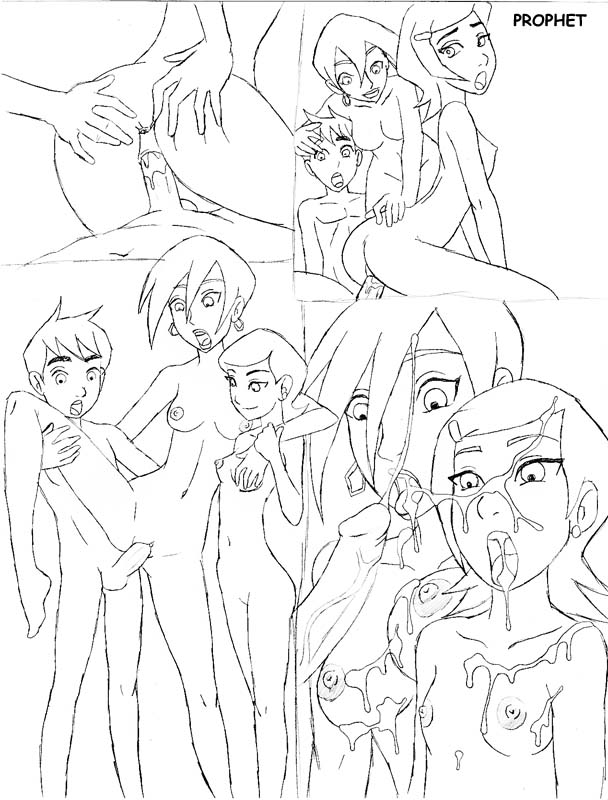 gwen and ben Total drama island characters naked