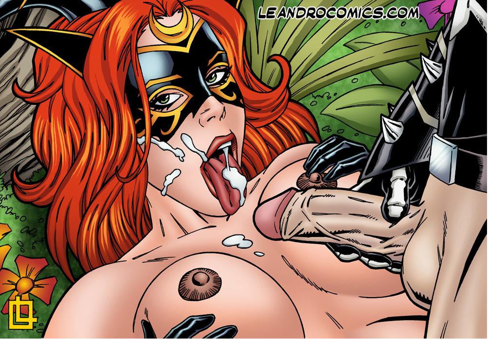 the witch black rose tarot of Ctrl-alt-del comic