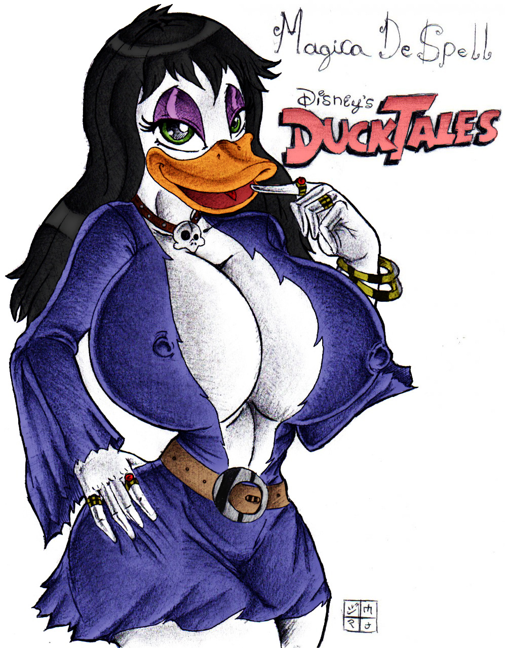 magica de spell 2017 ducktales Mom and son incest gif