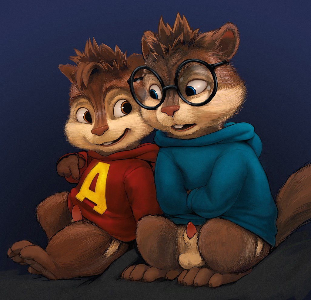 and yaoi the alvin chipmunks Fnaf bonnie and toy bonnie