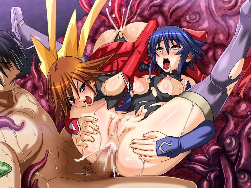 asuka) tokushusen shoujo mahou The lady in red ib