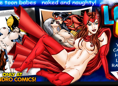 and scarlet witch porn black widow Megan young justice true form