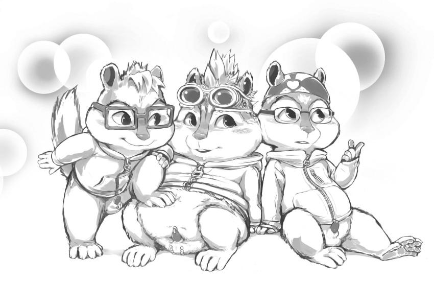 and alvin chipmunks the alvin and Dragon ball super broly chirai hentai