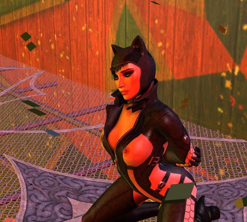 batman catwoman nude city arkham Giant crystal attack on titan