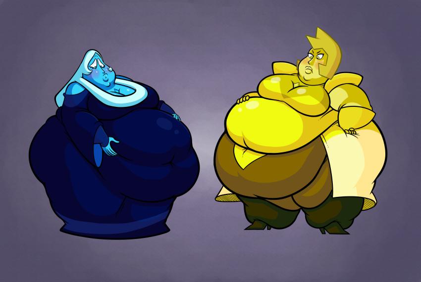 universe diamond yellow angry steven Total drama katie and sadie