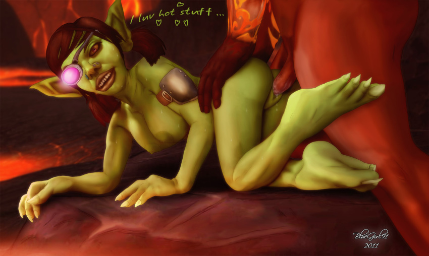 of warcraft female goblin world Mr pickles where is mr pickles