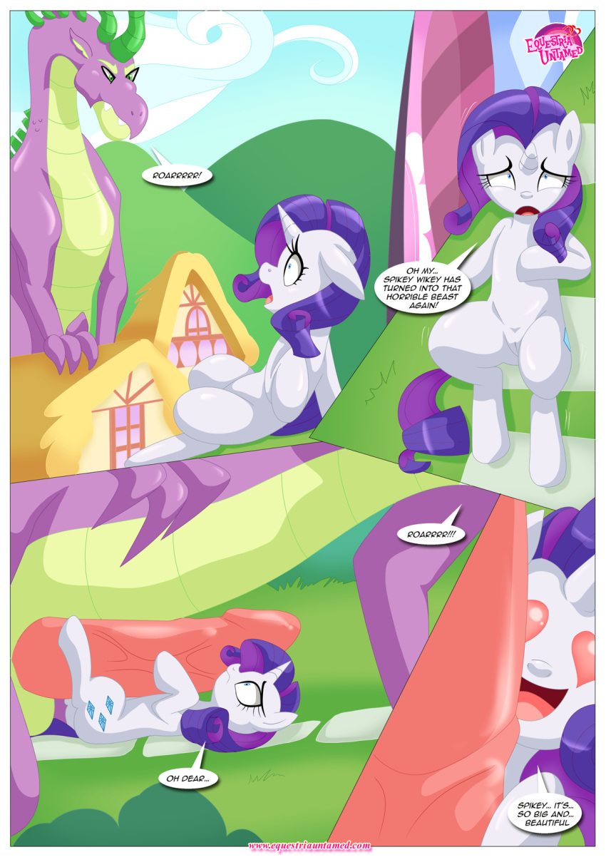 little rarity my pony spike and Vampire the masquerade