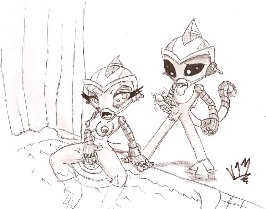 hyperforce monkey go super team robot jinmay Elf san wa yaserarenai uncensored