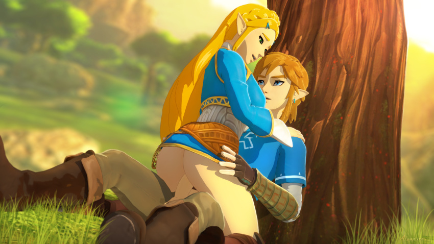 ass of breath wild zelda's the The laughing cow